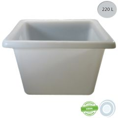Large volume container - 220L