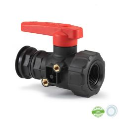 Valve 30L/min with connector for large volume containers from 100L to 220L