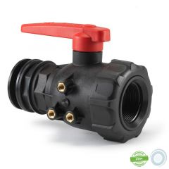 Valve 70L/min with connector for large volume containers from 310L to 500L