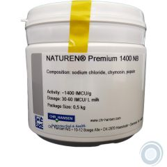 Natural rennet NATUREN® Plus 1400 NB 500g