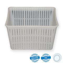 Rectangular ricotta mould 1000/1500g