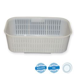 Rectangular ricotta mould 2000g