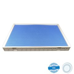 Tray 710 x 475mm double face with mat (A) (int.)