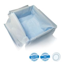 Blue synthetic cheesecloth liners 11 x 36in (500)