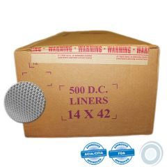 Synthetic cheesecloth liners 14 x 42in (500)