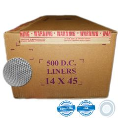 Synthetic cheesecloth liners 14 x 45in (500)