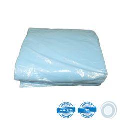 Coton à fromage synthétique bleu 14 x 45po (50)