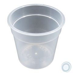 Cup for disposable mould clear (1200 units box)