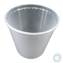 Cream pot 500ml clear (600 units box)