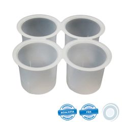 4 cups kit for disposable mould P407FAJ020 and P407FAJ080