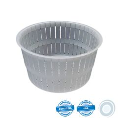 Disposable mould for ricotta 150g