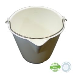 17L pail with pouring spout graduated