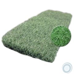 Green nylon scrub pads medium 10 x 4½ x 1in (20 pcs)