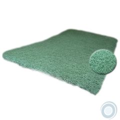 Green nylon scrub pads medium 9 x 6 x ¼in (25 pcs)
